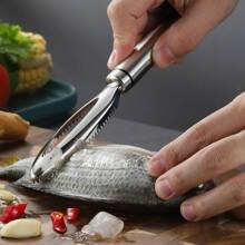 Stainless Steel Fish Scale Scraper