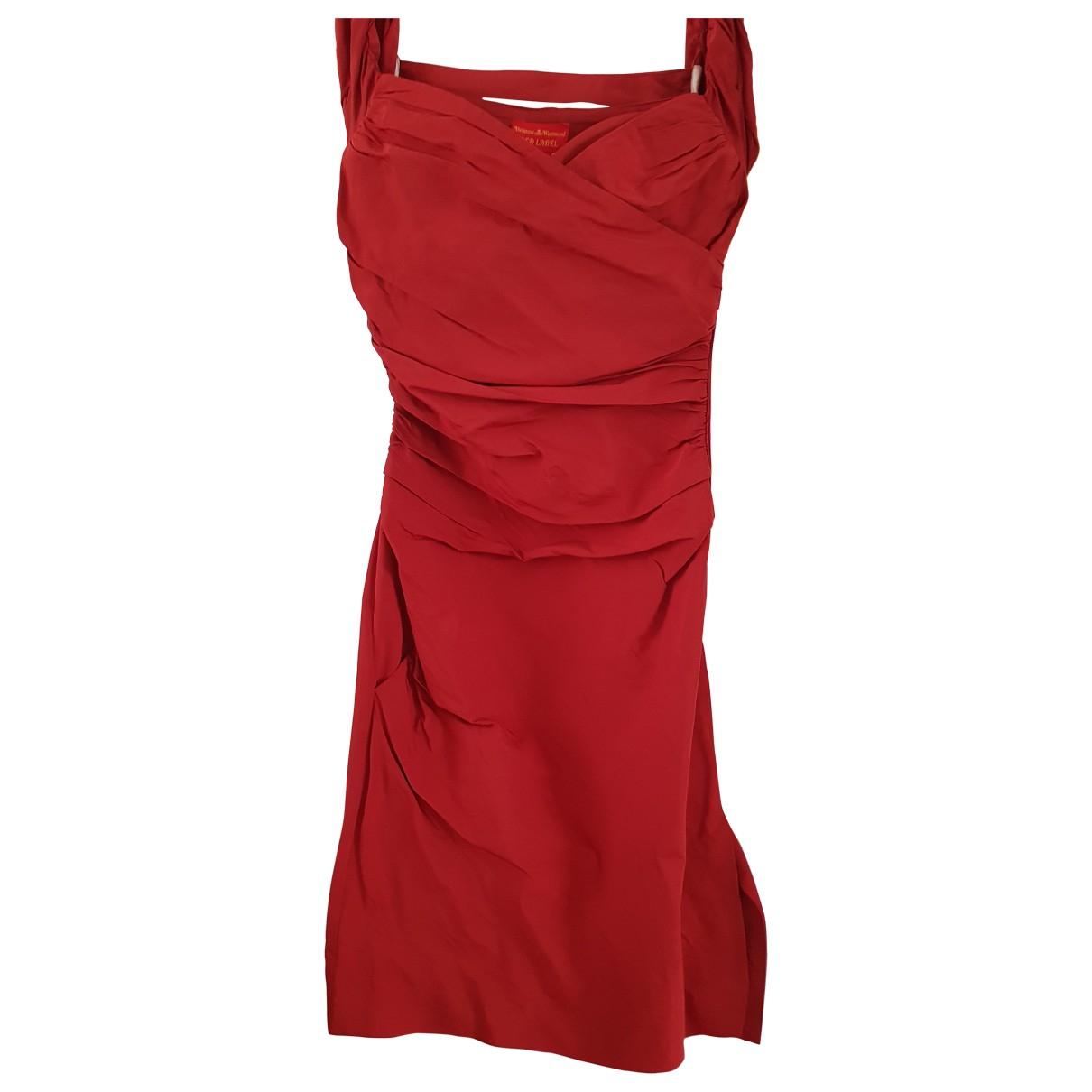 Vestido midi de Seda Vivienne Westwood Red Label