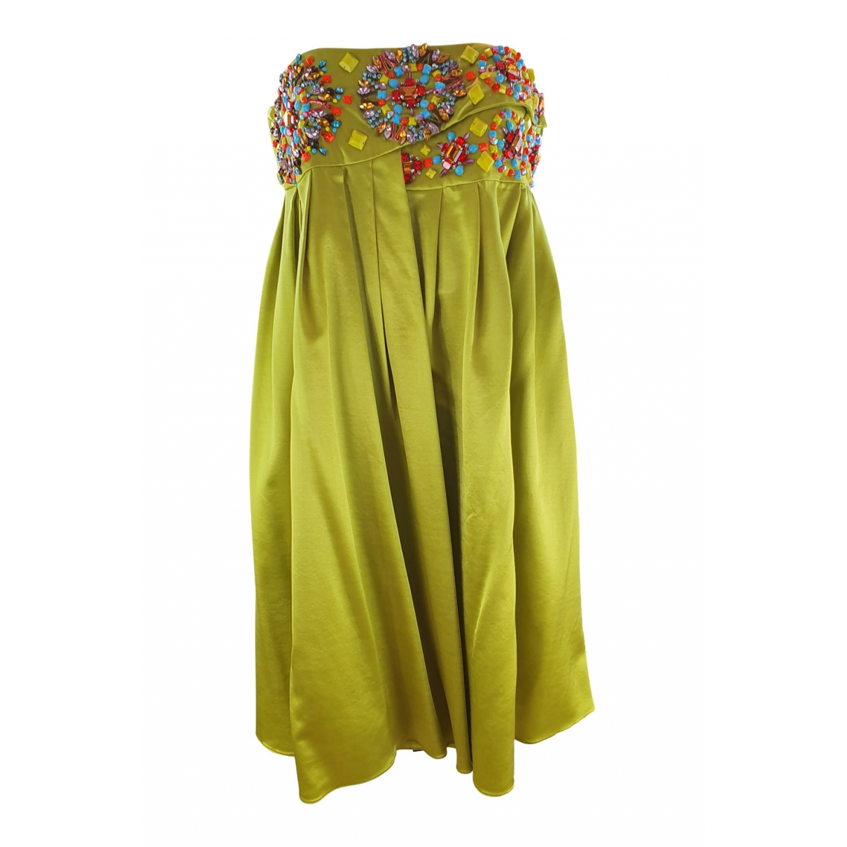 Matthew Williamson - Robe   pour femme en soie - vert