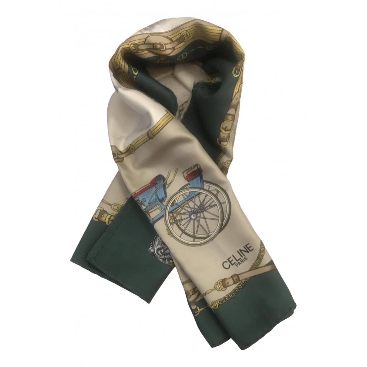 Celine N Multicolour Silk scarf for Women N