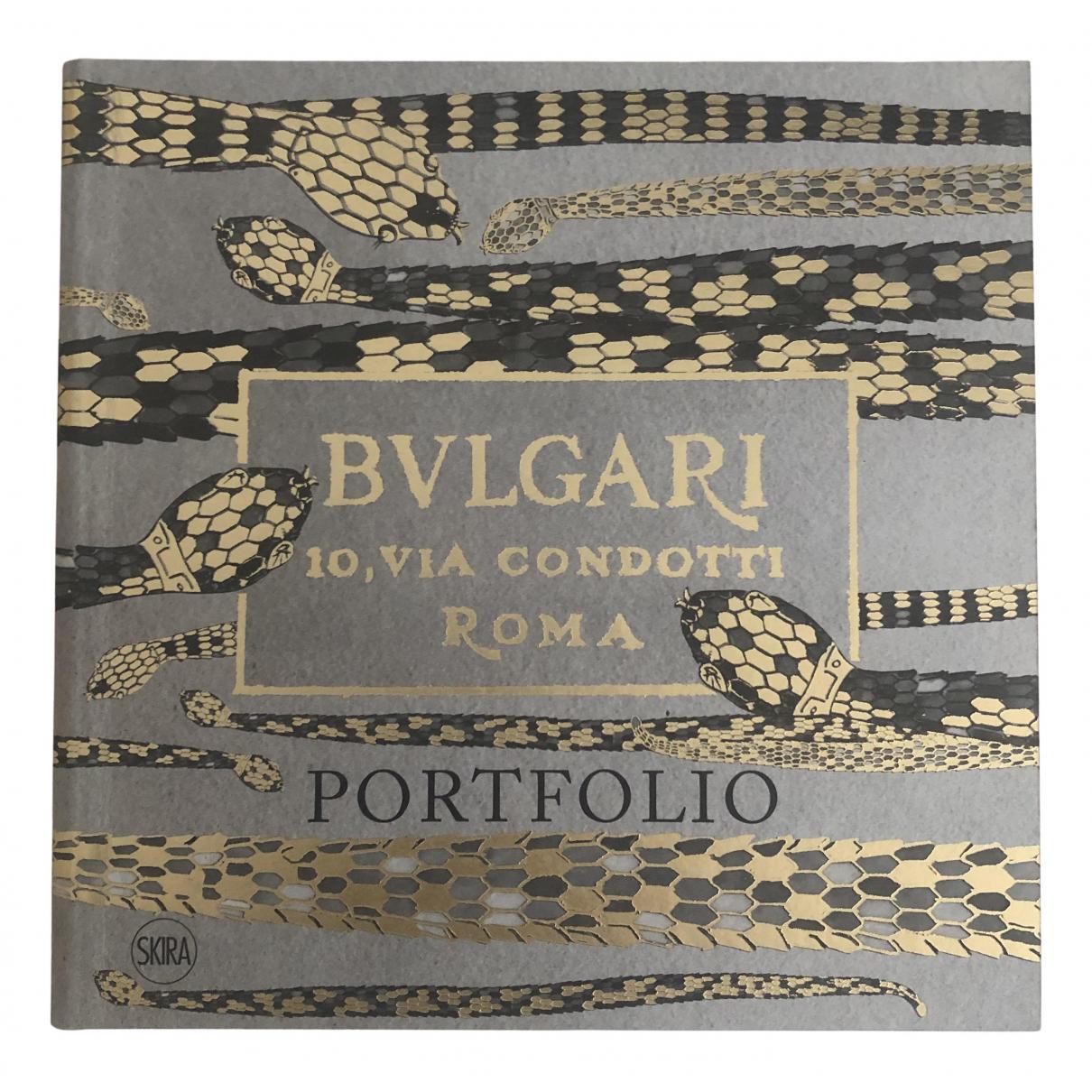 Bvlgari - Photographie   pour lifestyle en coton - gris