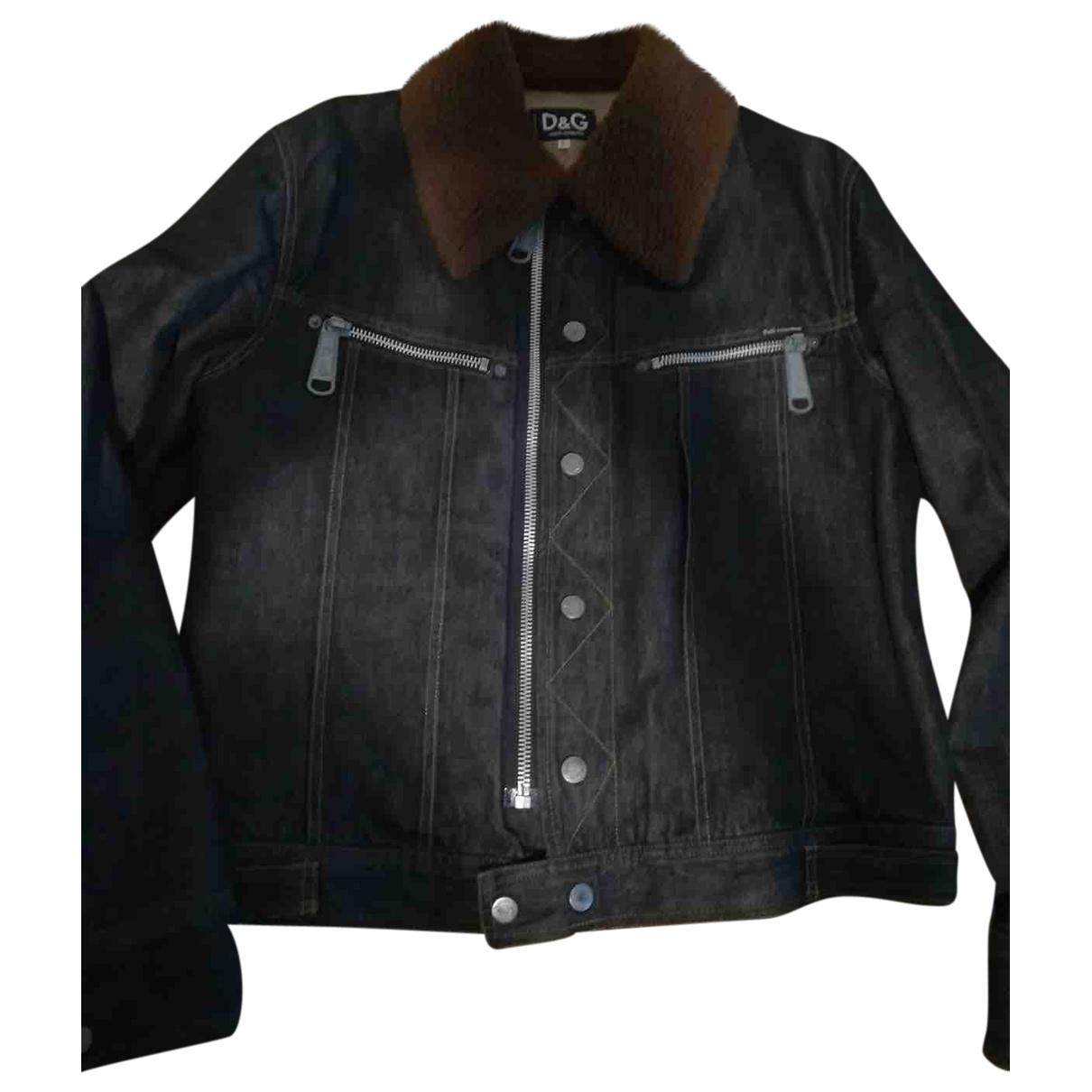 Dolce & Gabbana \N Blue Denim - Jeans jacket  for Men L International