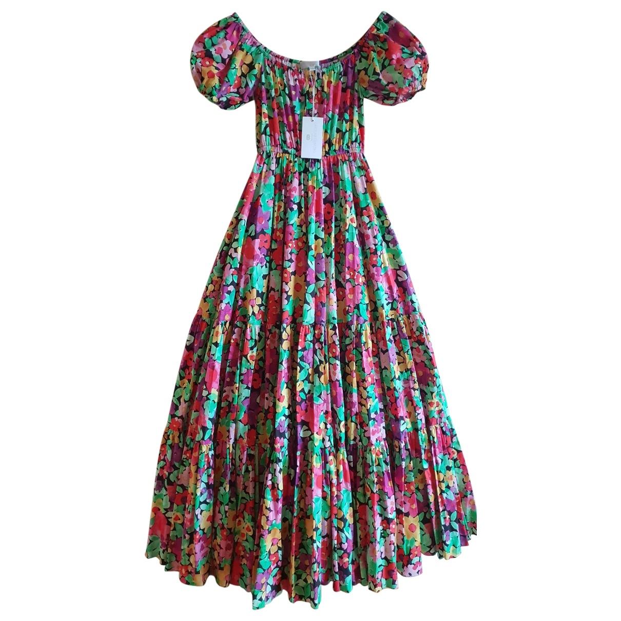 Caroline Constas \N Kleid in  Bunt Baumwolle