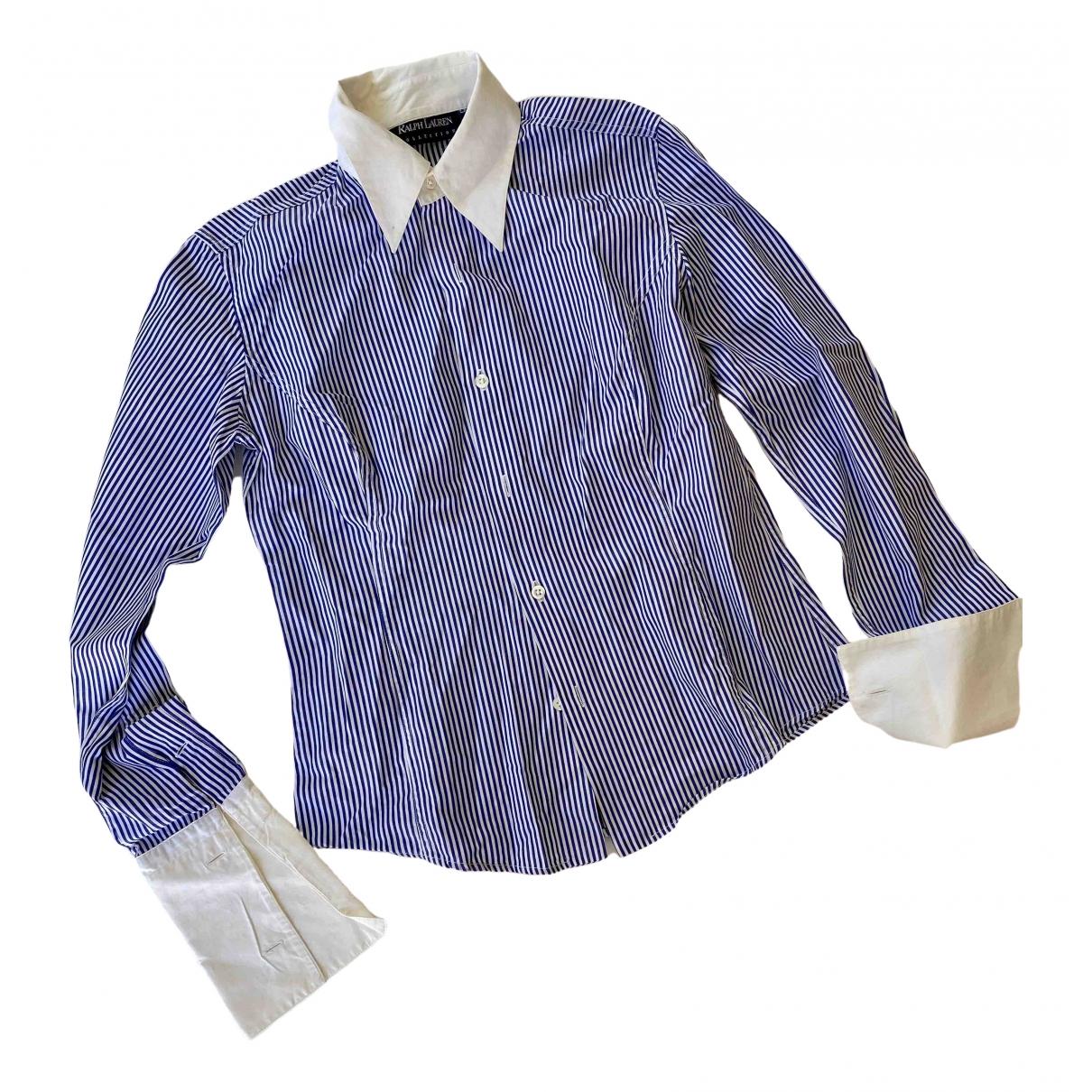 Ralph Lauren Collection - Top   pour femme en coton - blanc