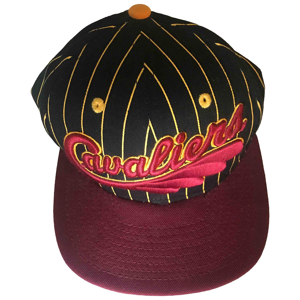Autre Marque N Burgundy Cotton hat & pull on hat for Men 58 cm