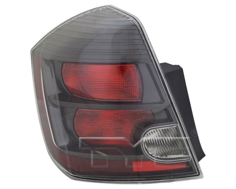 TYC Tail Light CAPA Certified Nissan Sentra 2010-2012