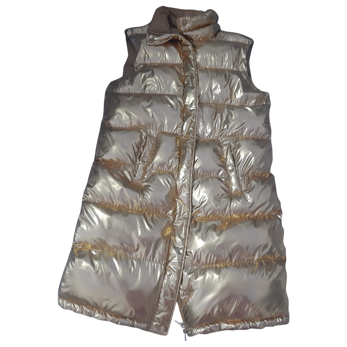 Cycle \N Jacke in  Gold Polyester