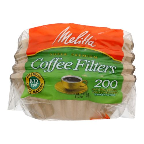 Coffee Filters Basket 200 Pieces by Melitta
