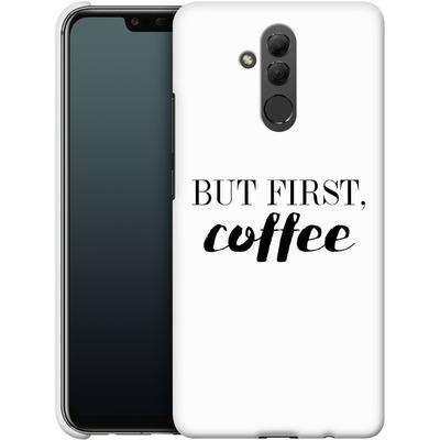 Huawei Mate 20 Lite Smartphone Huelle - But first, coffee! von Erik Scholz