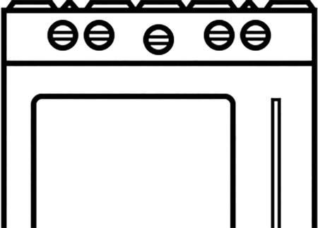 Left Hinge Door (Left Oven for Double Oven Ranges) For RNB Series