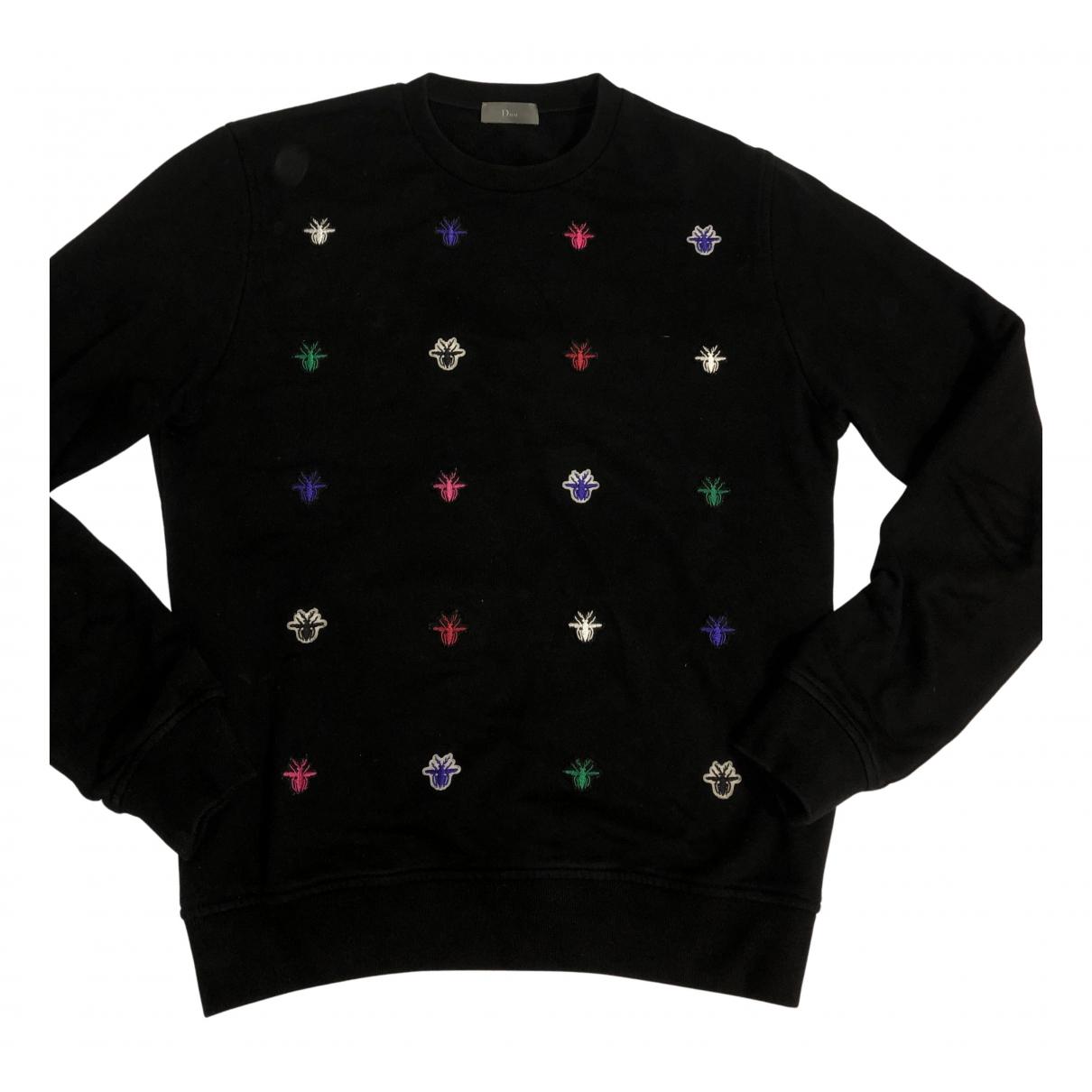 Dior \N Pullover.Westen.Sweatshirts  in  Schwarz Baumwolle