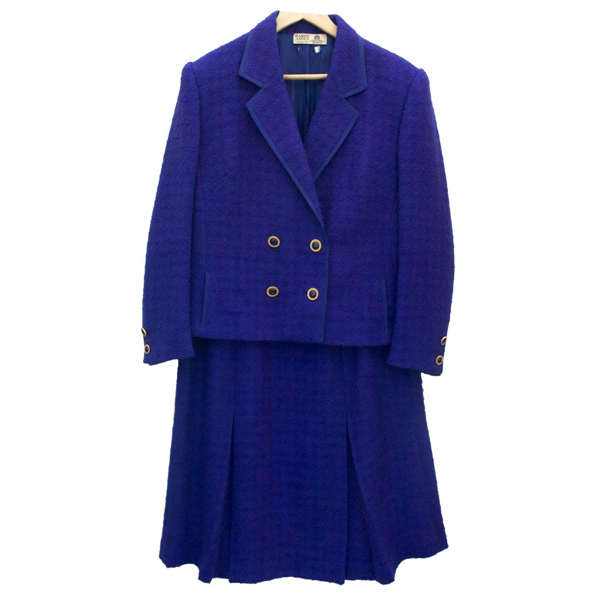 Hardy Amies - Veste   pour femme en laine - violet