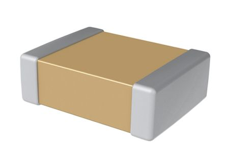 KEMET 1206 (3216M) 8.2nF Multilayer Ceramic Capacitor MLCC 500V dc ±5% SMD C1206C822JCGACAUTO (2000)