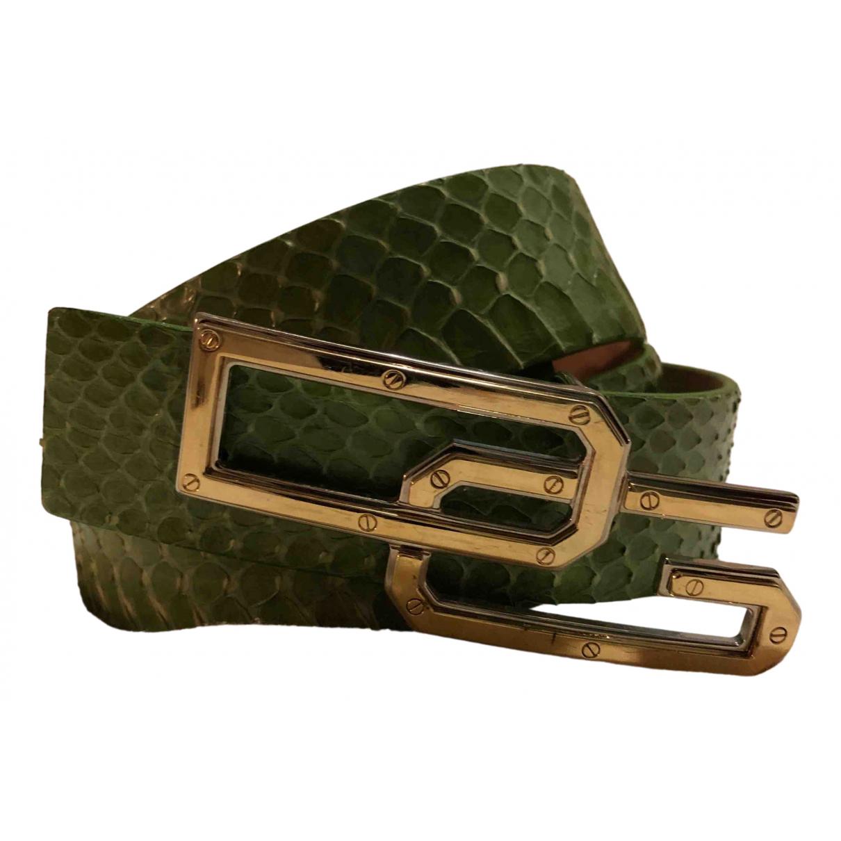 Dolce & Gabbana \N Guertel in  Gruen Python