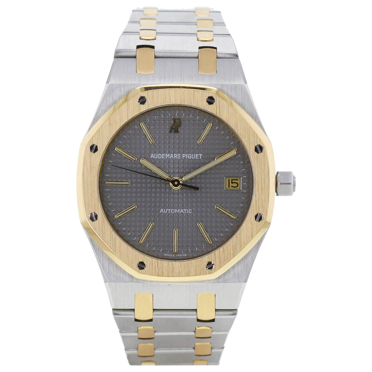 Audemars Piguet Royal Oak  Khaki gold and steel watch for Men \N