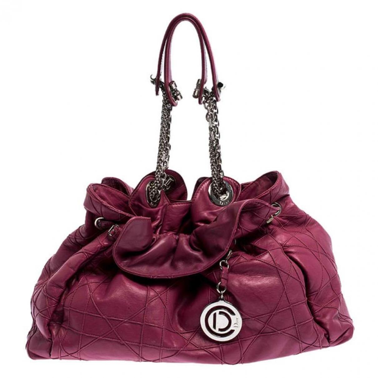 Dior - Sac a main Le Trente pour femme en cuir - rose