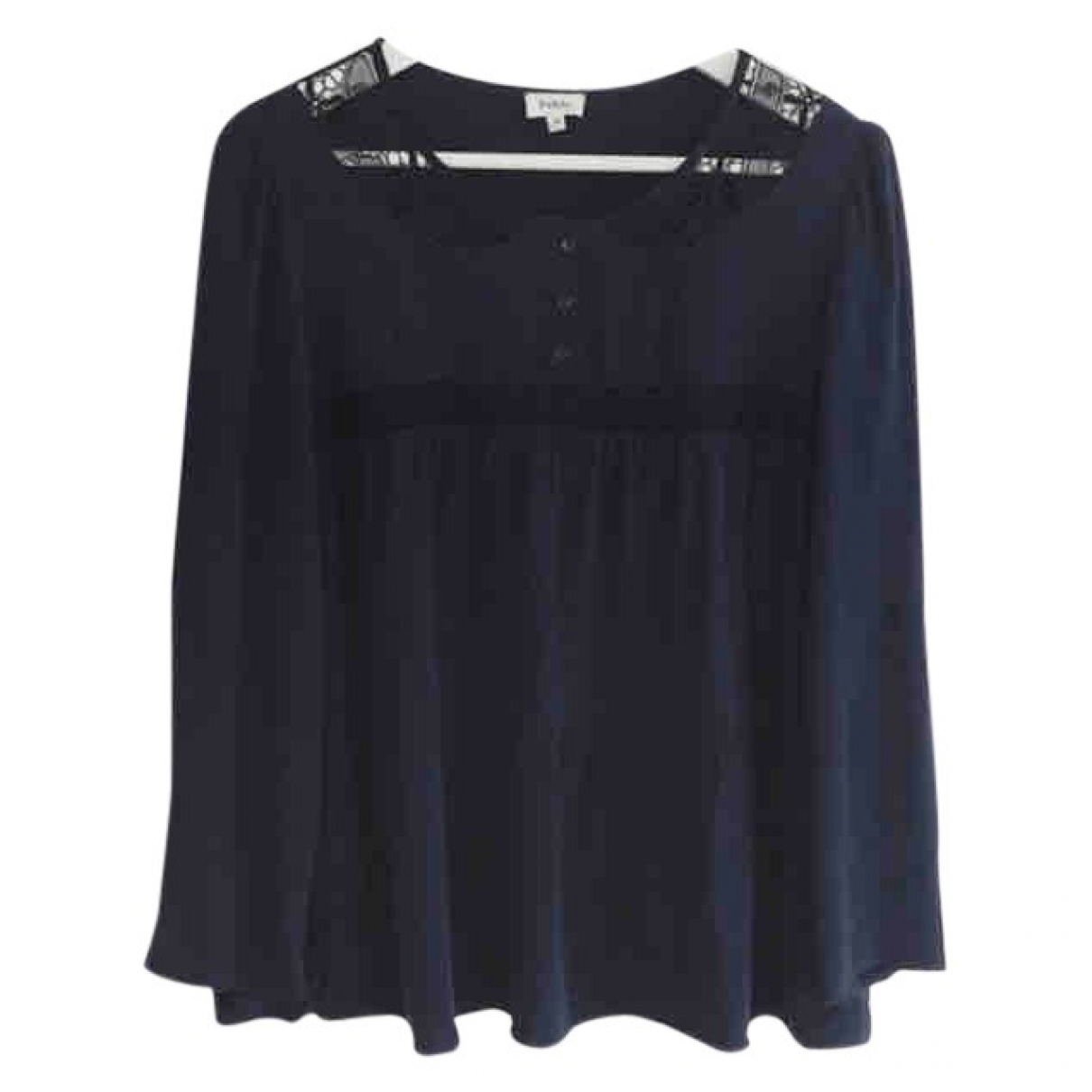 Pablo \N Navy  top for Women 38 FR