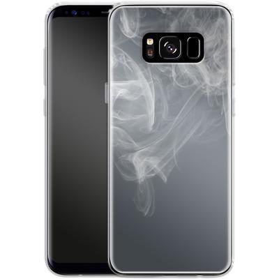 Samsung Galaxy S8 Silikon Handyhuelle - Smoking von caseable Designs
