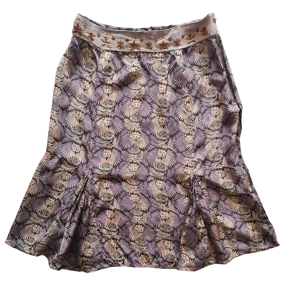 Day Birger & Mikkelsen \N Multicolour Silk skirt for Women 34 FR