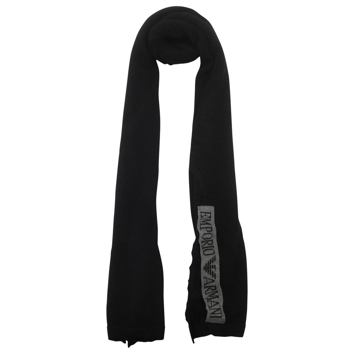 Emporio Armani - Foulard   pour femme en laine