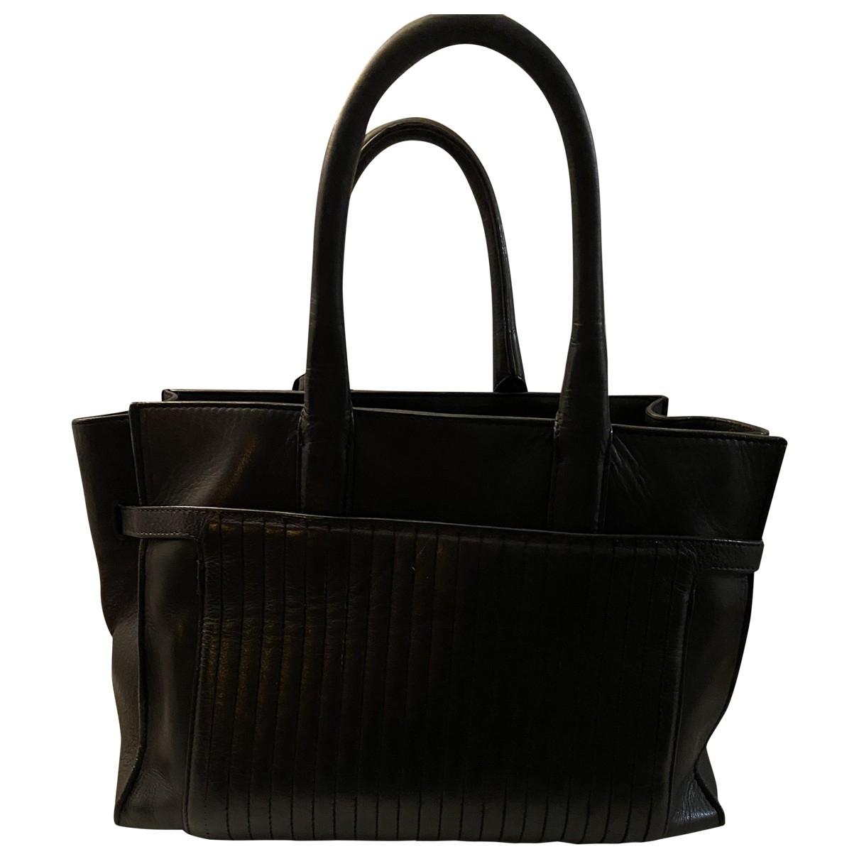 Zadig & Voltaire Candide Black Leather handbag for Women \N