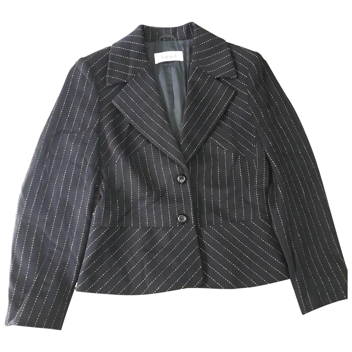 Laurel - Veste   pour femme en laine - noir