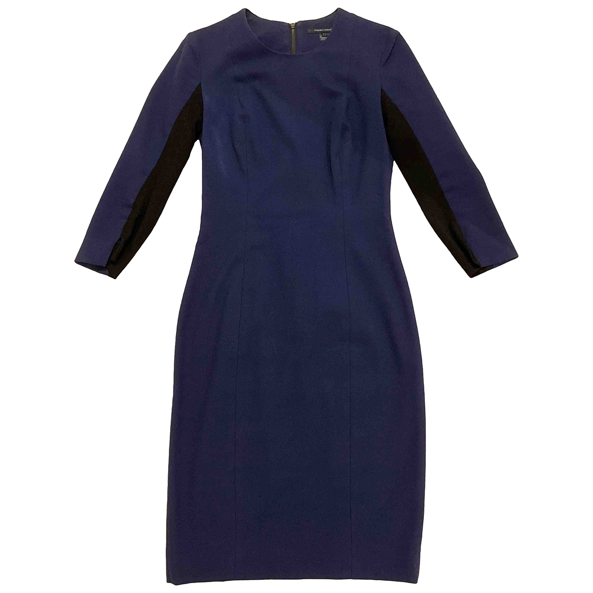 French Connection \N Kleid in  Marine Polyester
