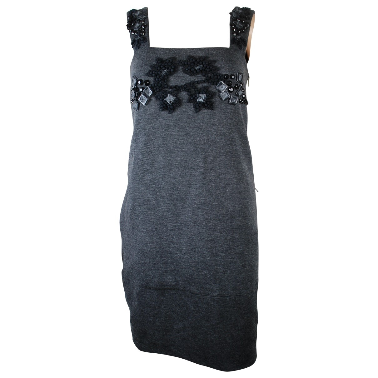 Marni - Robe   pour femme en laine - anthracite