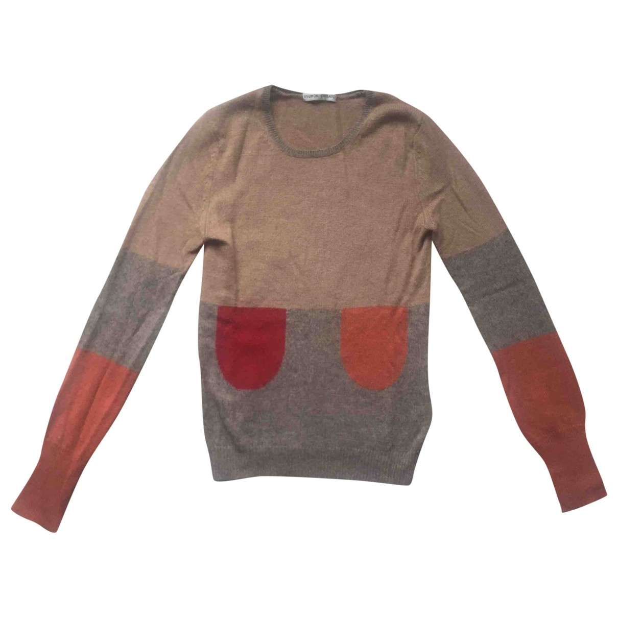 Tsumori Chisato - Pull   pour femme en laine - beige