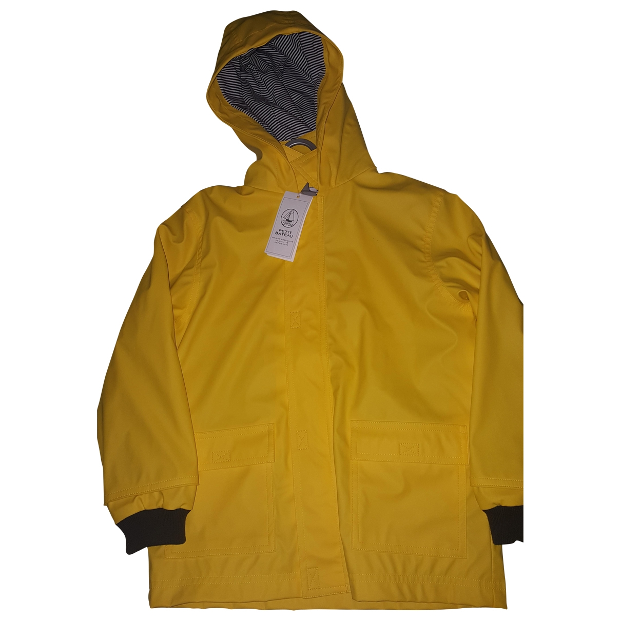 Petit Bateau \N Yellow jacket & coat for Kids 5 years - up to 108cm FR