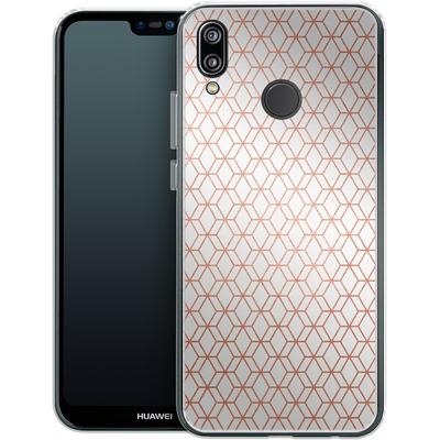 Huawei P20 Lite Silikon Handyhuelle - Morning Pattern von #basic