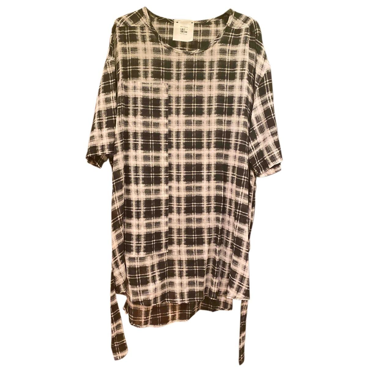 Lost & Found Ria Dunn N Multicolour Cotton Shirts for Men L International