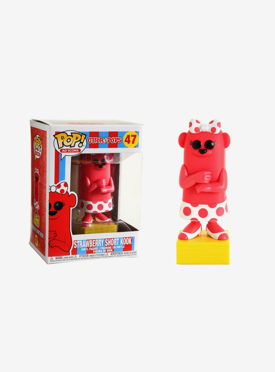 Funko Pop! Otter Pops Strawberry Short Kook Vinyl Figure