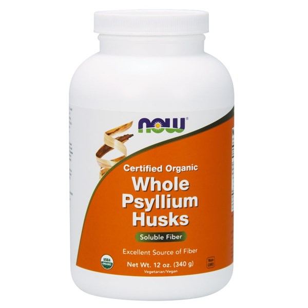 Psyllium Husk Whole 12 oz by Now Foods