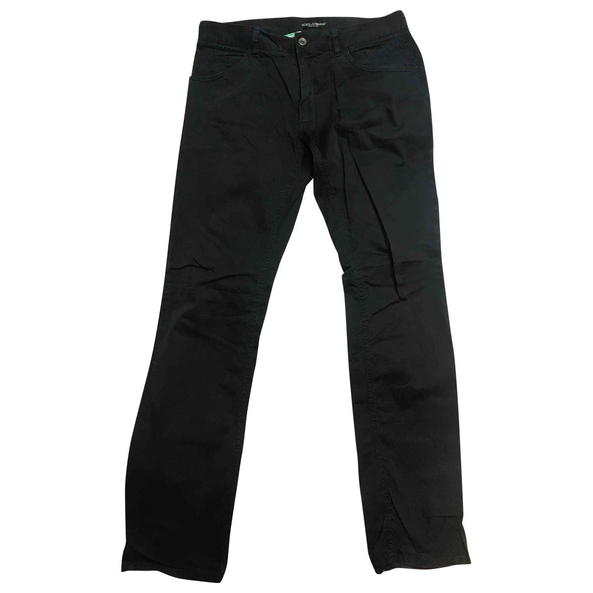 Dolce & Gabbana - Pantalon   pour homme en coton - marine