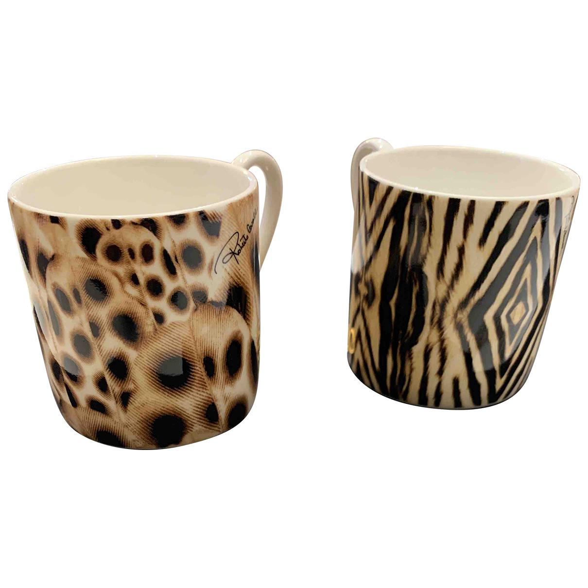 Juego de te/cafe de Porcelana Roberto Cavalli