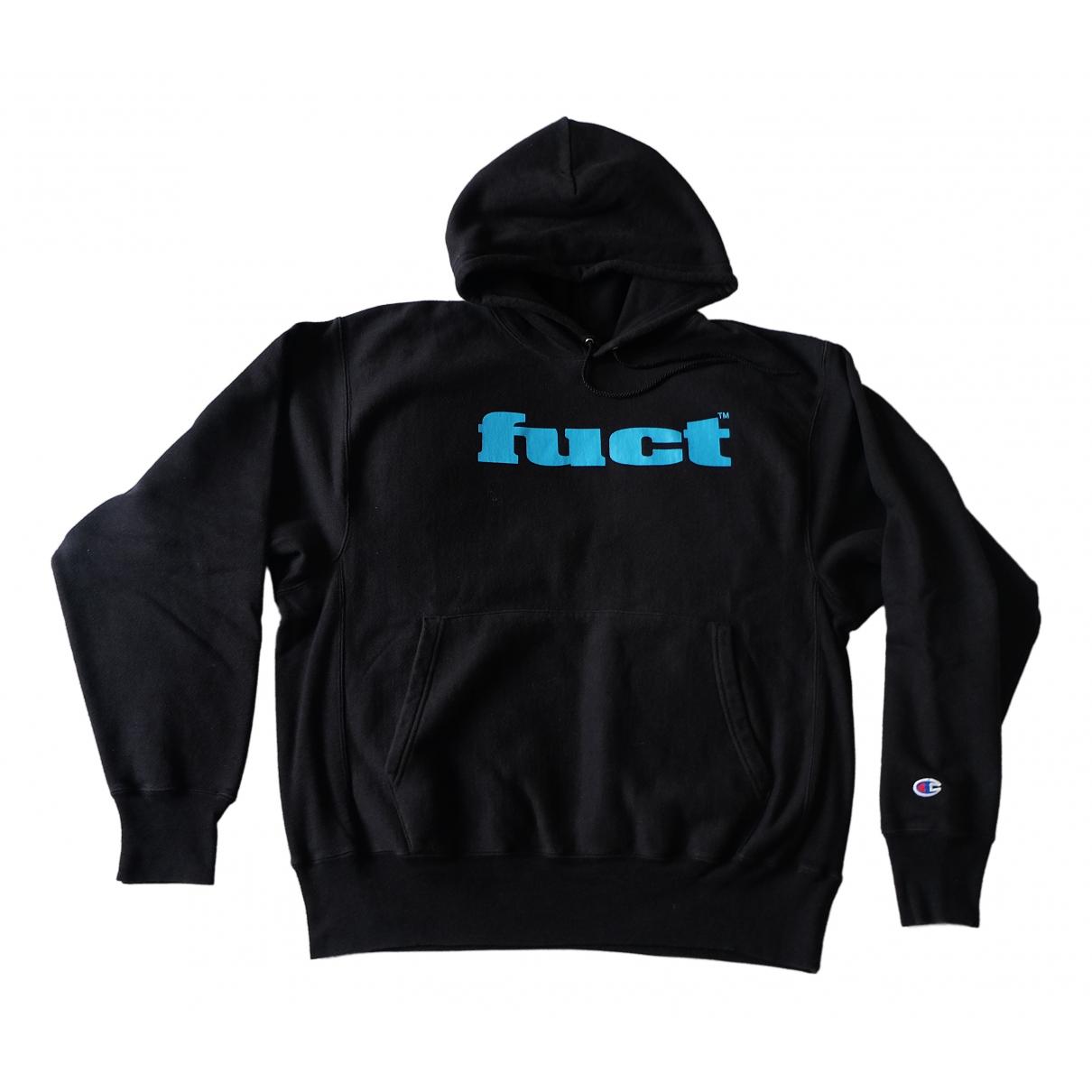 Fuct \N Pullover.Westen.Sweatshirts  in  Schwarz Baumwolle
