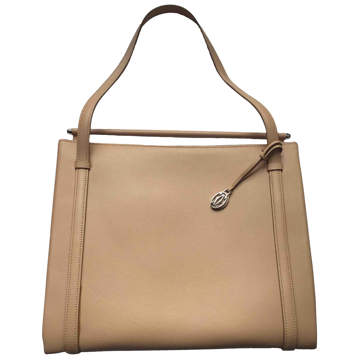 Cartier \N Beige Leather handbag for Women \N
