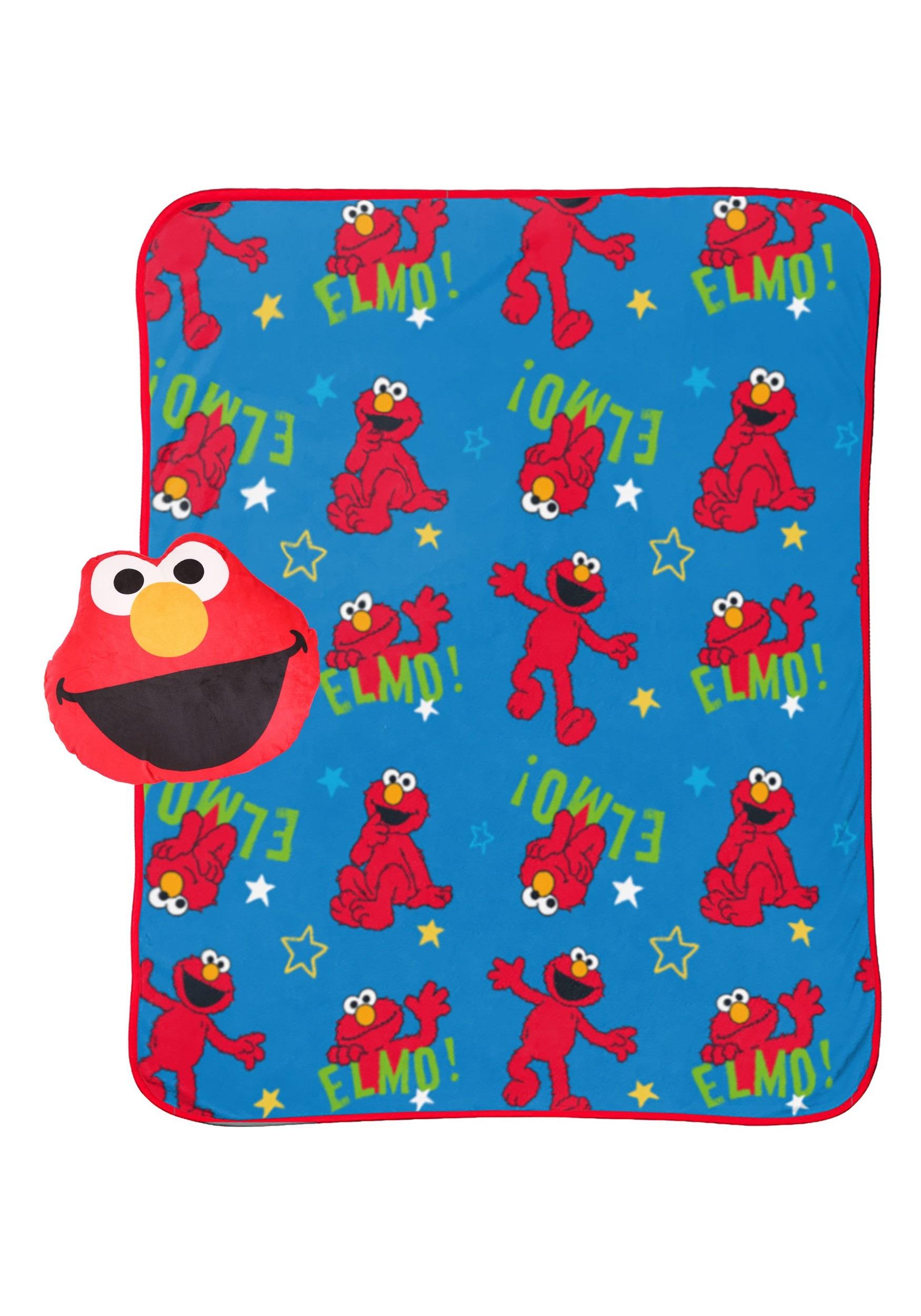 Sesame Street Blanket and Nogginz