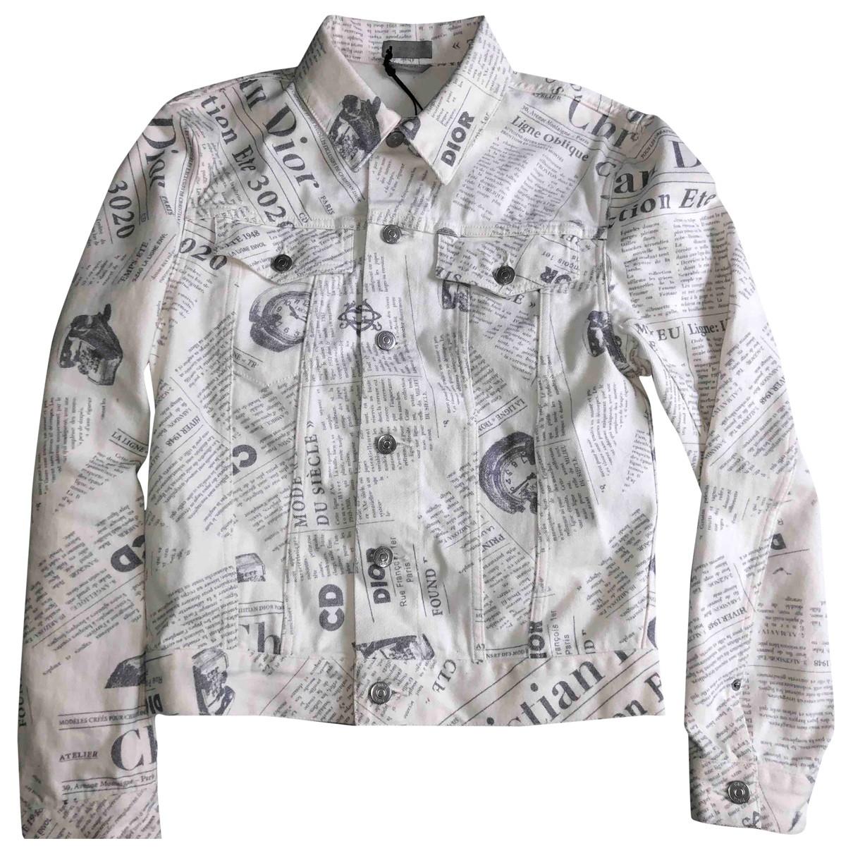 Dior - Vestes.Blousons   pour homme en coton - blanc