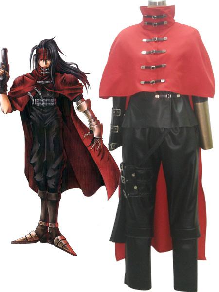 Milanoo Halloween Carnaval Traje de Vincent Valentine para cosplay de Final Fantasy