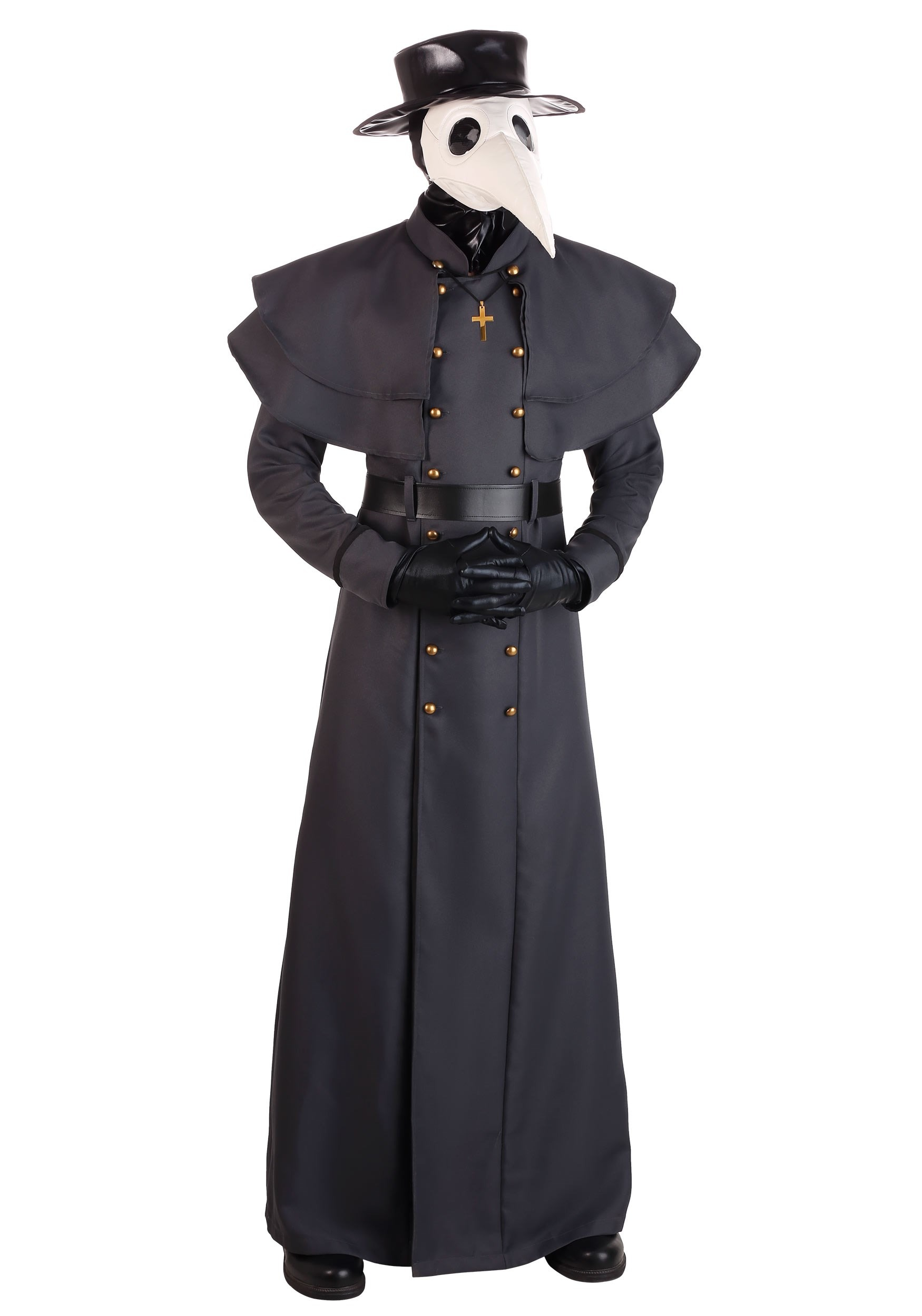 Classic Plague Doctor Costume for Adults