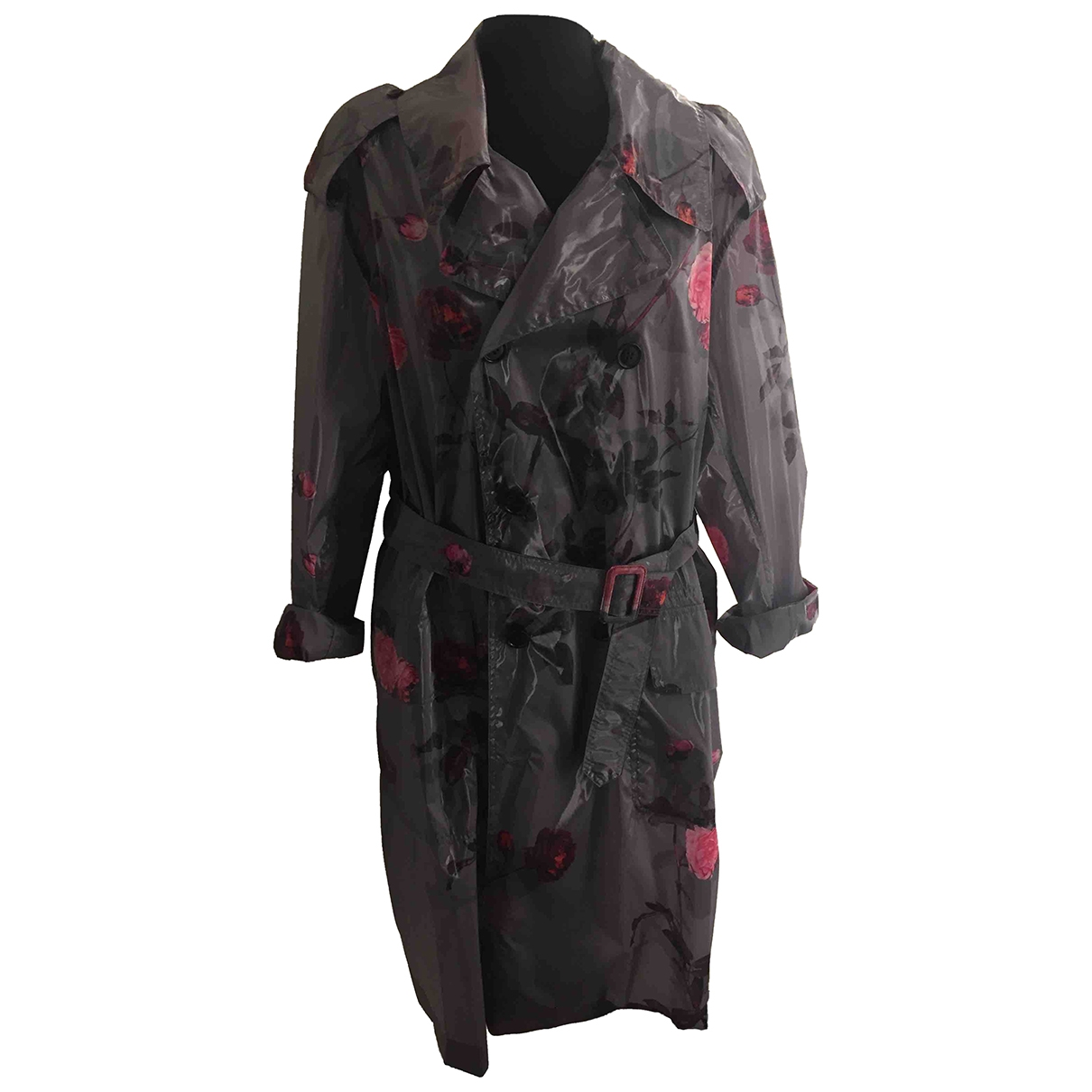 Dries Van Noten - Trench   pour femme - anthracite