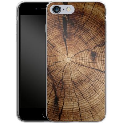 Apple iPhone 6 Plus Silikon Handyhuelle - Tree Rings von caseable Designs