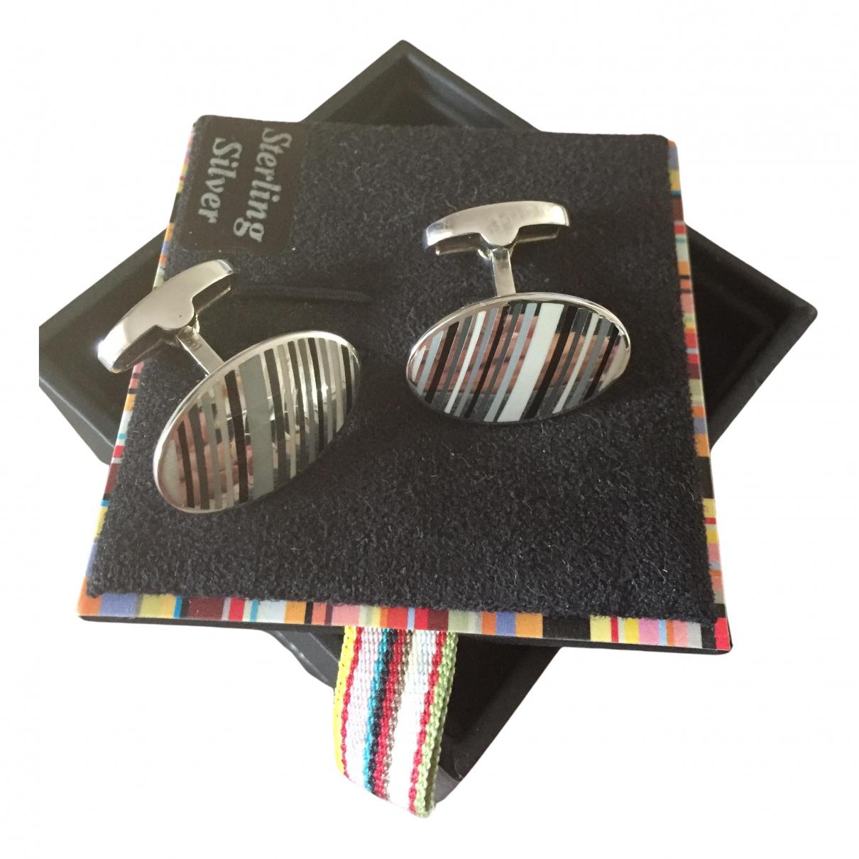 Paul Smith N Silver Silver Cufflinks for Men N