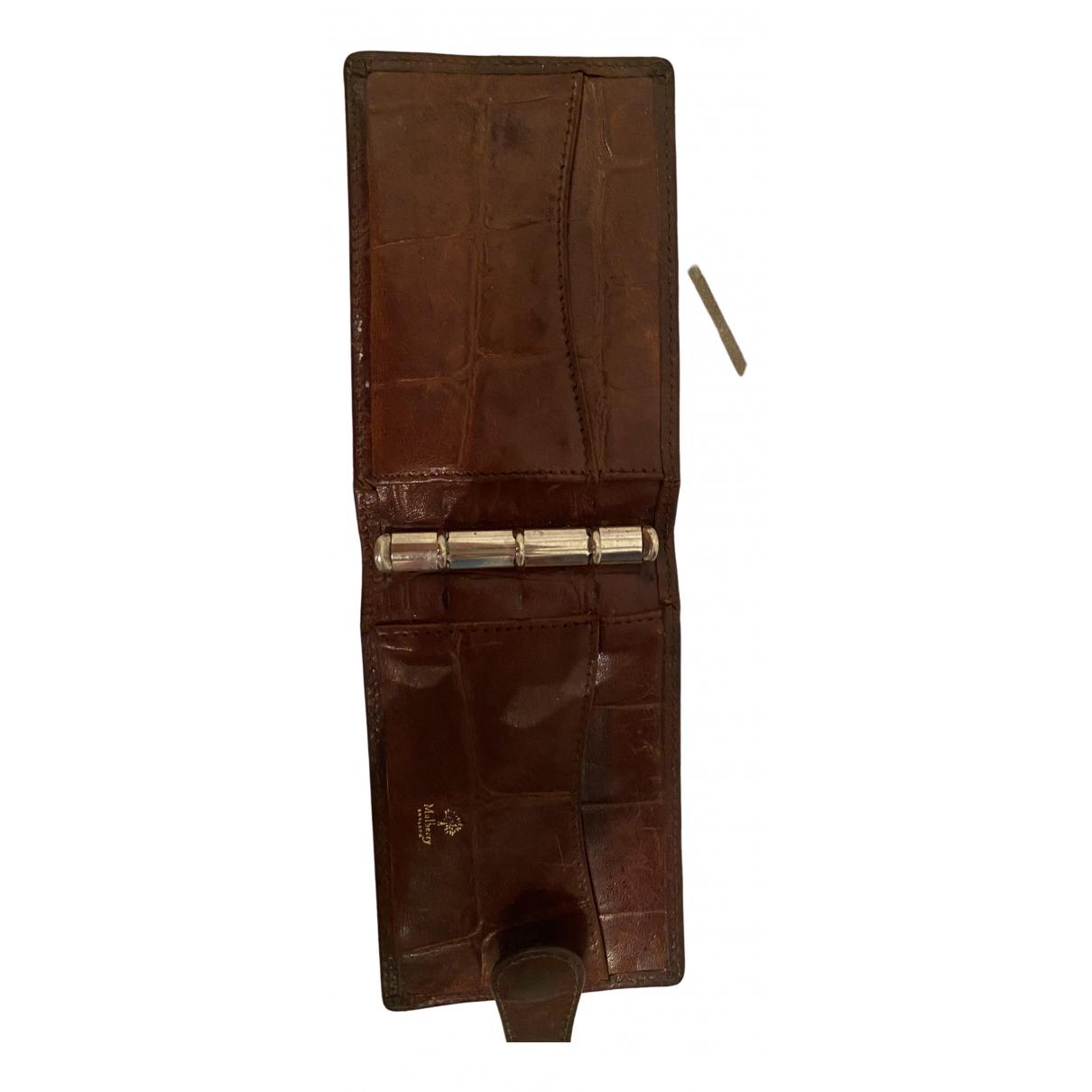 Mulberry - Portefeuille   pour femme en cuir - marron