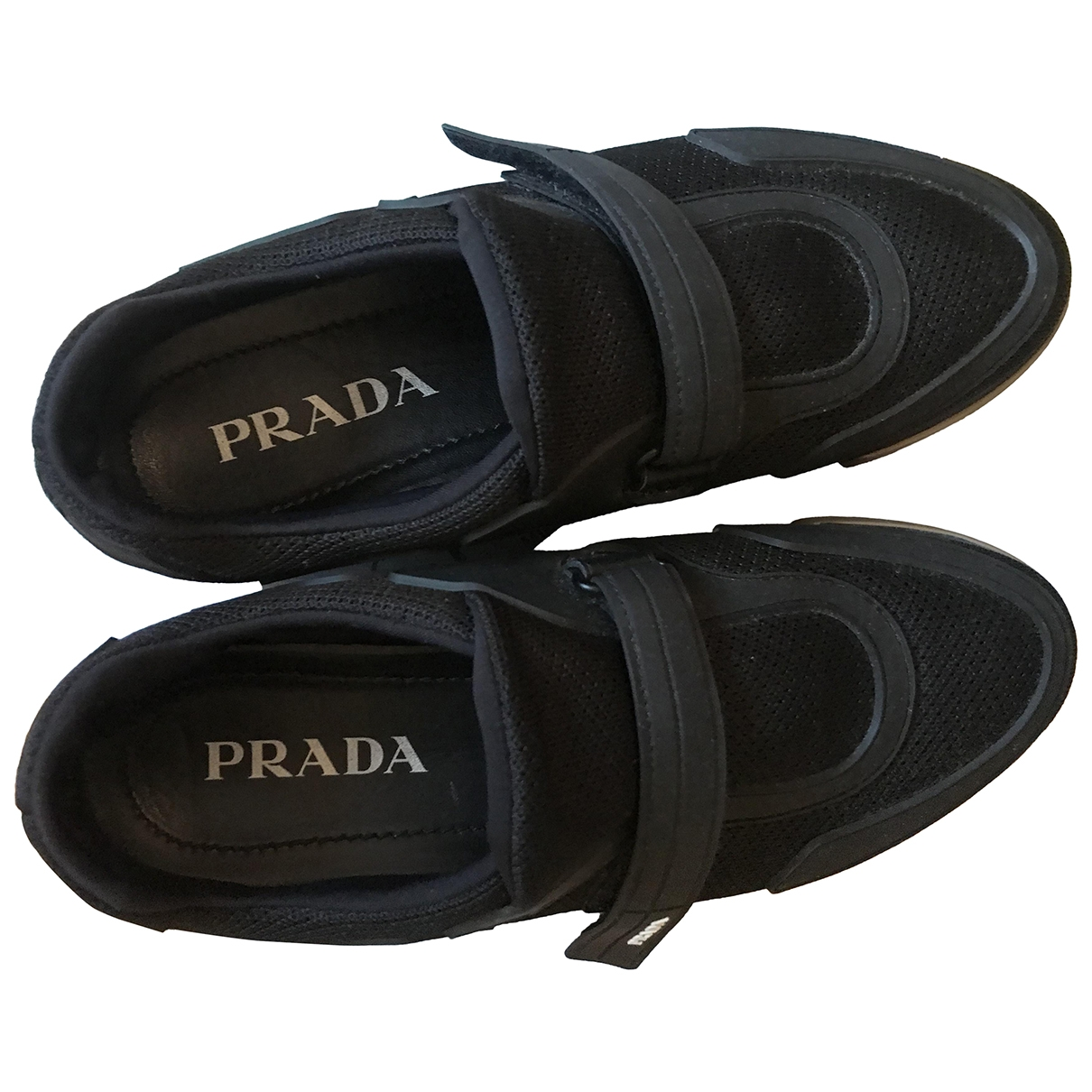 Prada Cloudbust Sneakers in  Schwarz Polyester