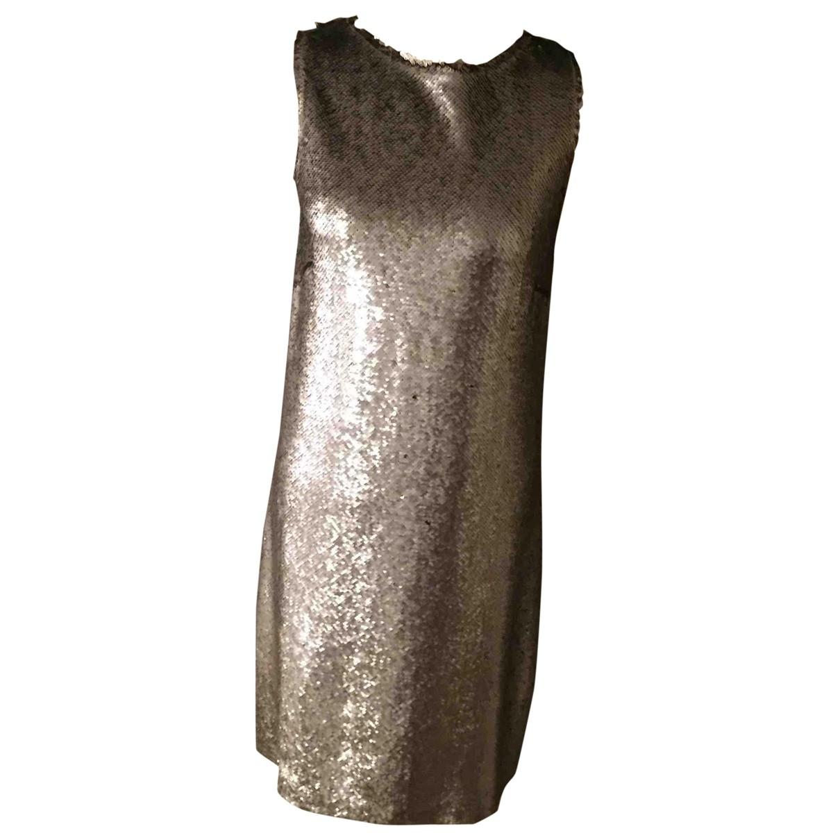 Maison Martin Margiela \N Silver Glitter dress for Women 44 IT