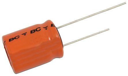 Vishay 15F Supercapacitor EDLC -20 → +50% Tolerance, 220 EDLC 2.7V dc, Through Hole
