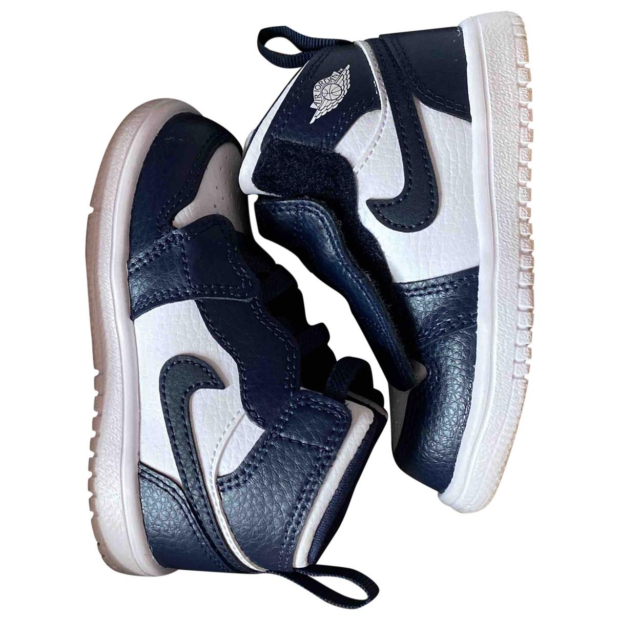 Jordan Air Jordan 1  Multicolour Leather Trainers for Kids 5.5 UK